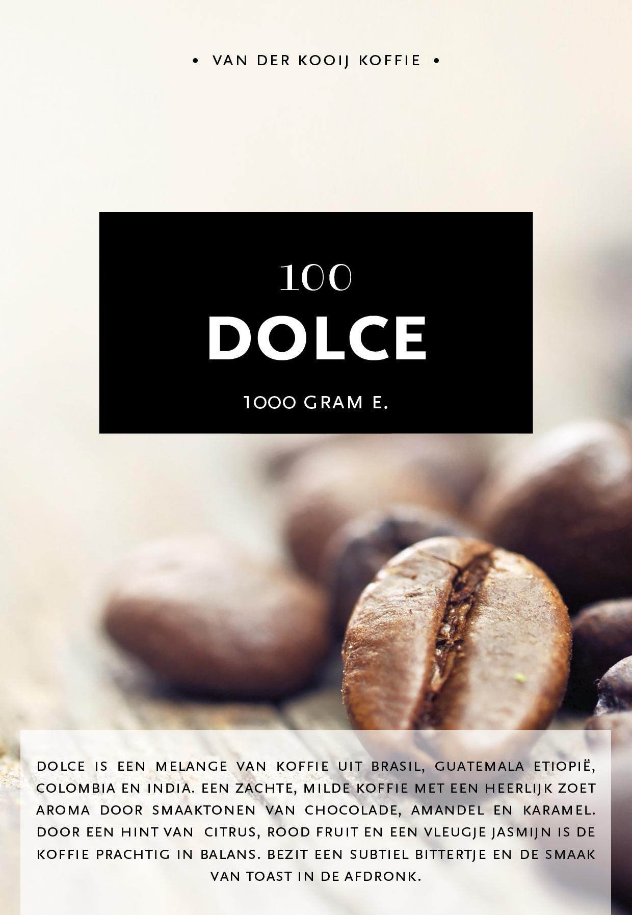 Caffè Dolce 100% arabica
