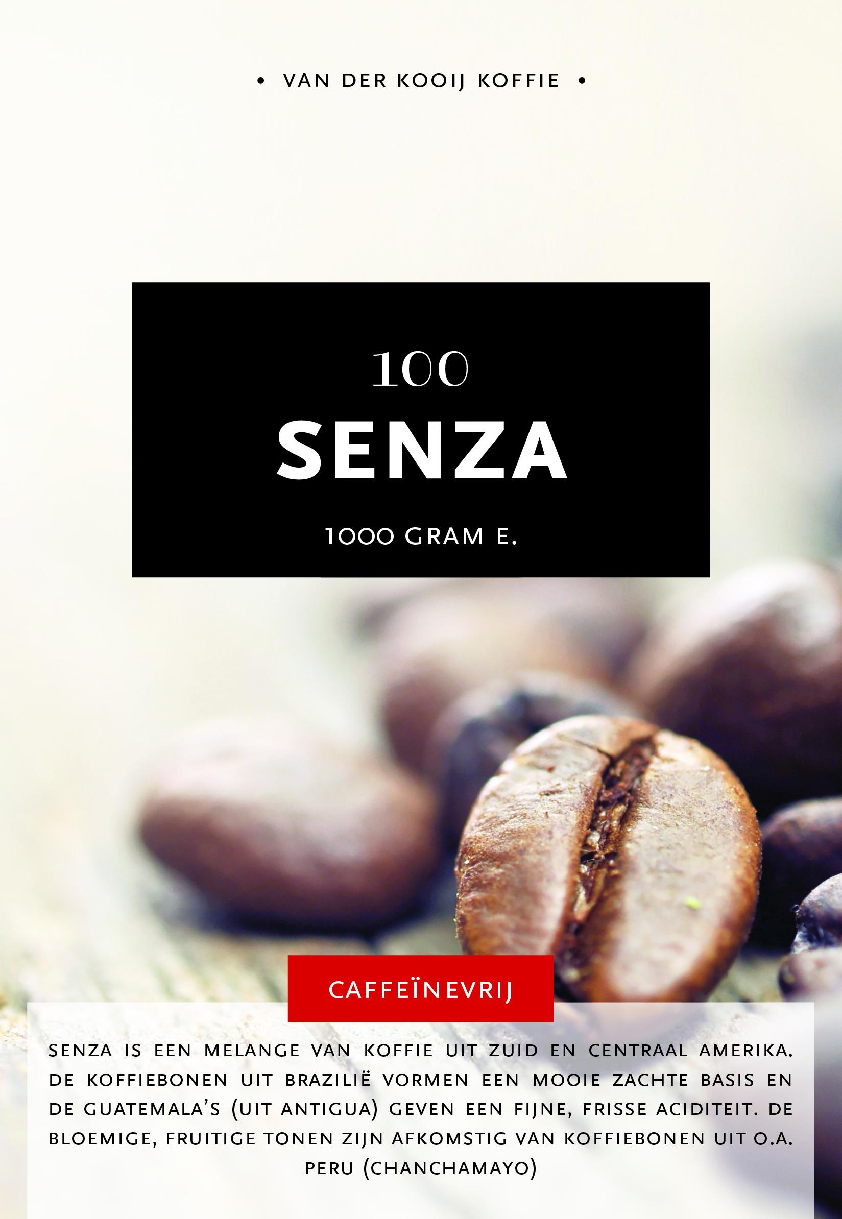 Caffé Senza 100% arabica caffeïnevrij 2
